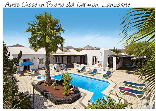 Autre Chose is a holiday villa in Puerto del Carmen, Lanzarote sleeping 8 people. With a private pool and hot tub