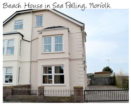 Beach House in Sea Palling, Norfolk is a holiday cottage which sleeps 10 people