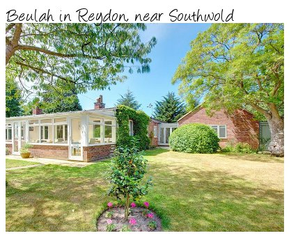 Beulah is a large holiday cottage in Reydon, near to Southwold. Beulah sleeps 11 people and pet friendly