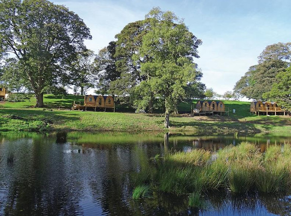 Blossom Plantation Pods in Chathill, near Alnwick, are holiday lodges sleeping 2 people