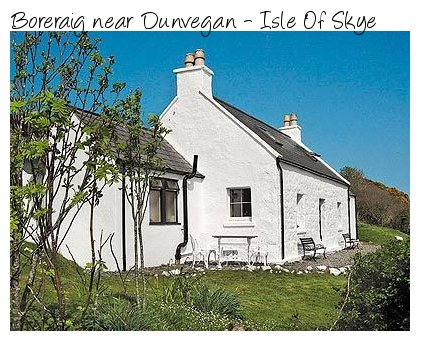Want some peaceon your cottage holiday? Try Boreraig on the Isle Of Skye