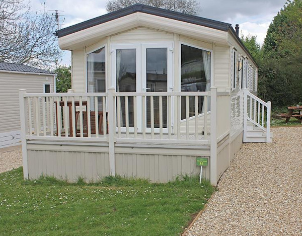 Bucklegrove Holiday Park in Cheddar, Somerset, has caravans and lodges