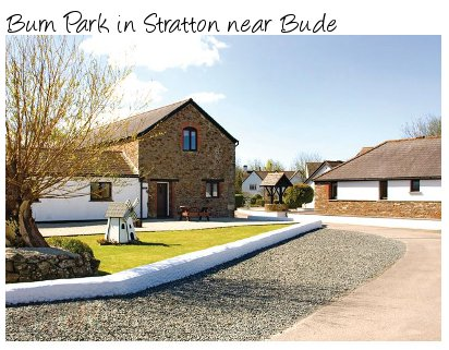 Burn Park near Bude is a lovely collection of apartments set in 45 acres of countryside