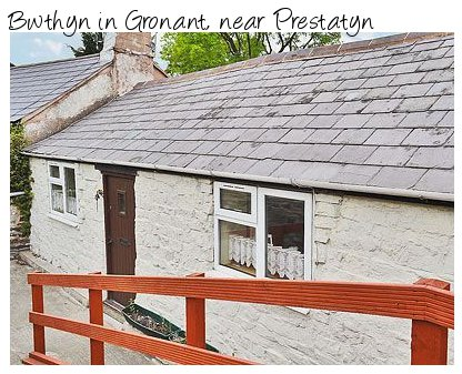 Bwthyn is a traditional cottage in Prestatyn, Clwyd which sleeps 6 people