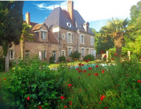 Chateau Le Brun in Loire Valley is a holiday villa which sleeps 12 people