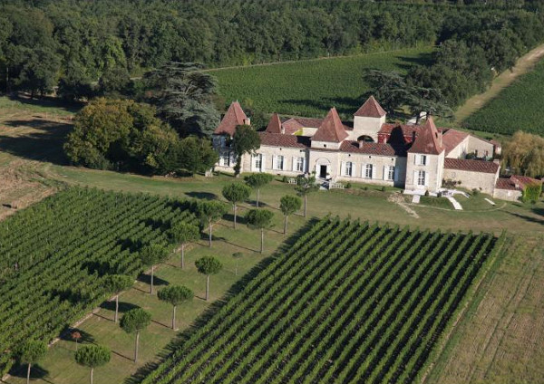 Chateau Tournesol in Agen, Aquitaine sleeps 21 people