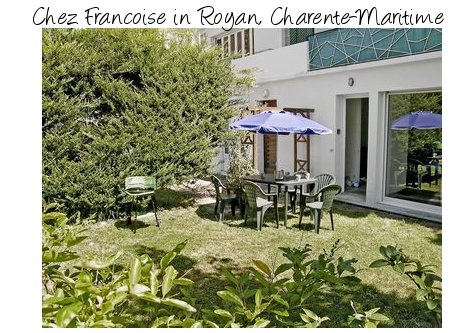 Chez Francoise in Royan is an apartment within walking distance of the beach at Charente-Maritime