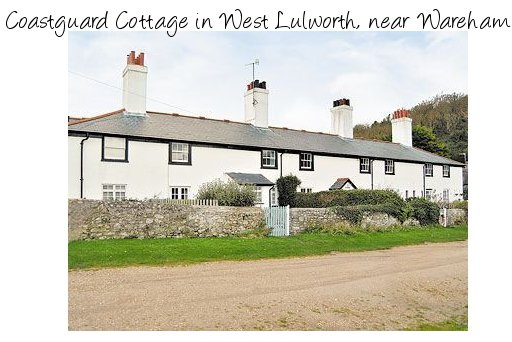 Coastguard Cottage is a lovely old cottage overlooking the sea at West Lulworth near Wareham