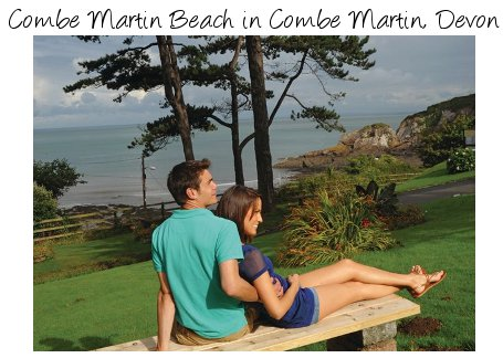 Combe Martin Beach is a family holiday park in Combe Martin, Devon - caravans sleeping 6 people