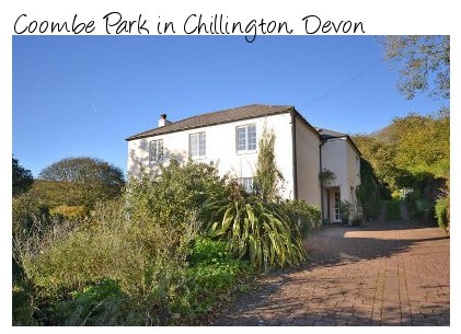Coombe Park is an old farm house in the Devon village of Chillington. Coombe Park sleeps 10 people and pet friendly