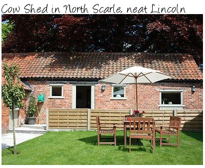 Spend a few days near the cathedral city of Lincoln in the holiday cottage