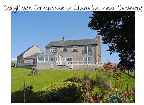 Craigllwyn Farmhouse is a large holiday cottage sleeping 11 people - with a private hot tub