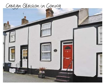 Cregyn Gleision in the heart of Conwy