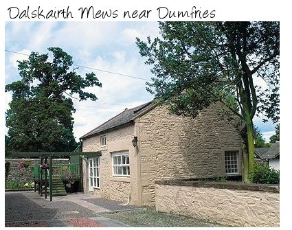Ideal for a romantic break try Dalskairth Mews near Dumfries