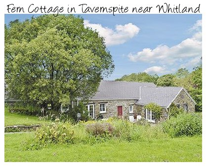 Enjoy rural south Wales with a holiday at Fern Cottage in Tavernspite
