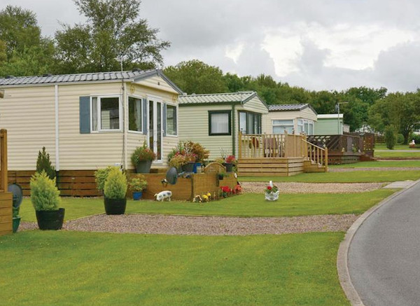 Forget Me Not Country Park in Longhorsley are caravans on a quiet site, sleeping 6