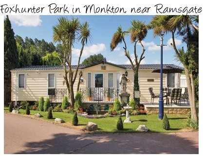 Foxhunter Park is a family caravan holiday park in Monkton near Ramsgate in Kent