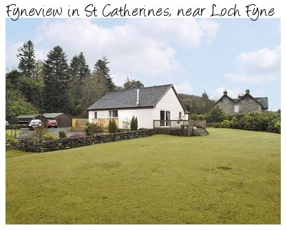 Fyneview in St Catherines, near Loch Fyne is a holiday cottage with loch views - sleeps 8 people and pet friendly