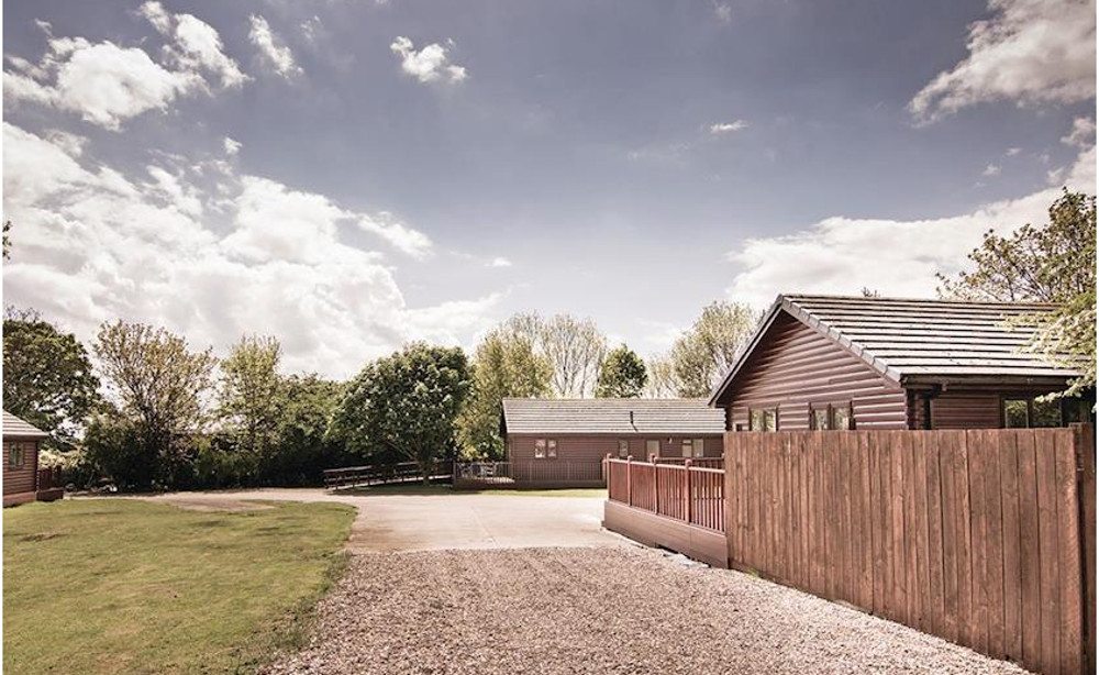 Great Hatfield Lodges has a peaceful setting