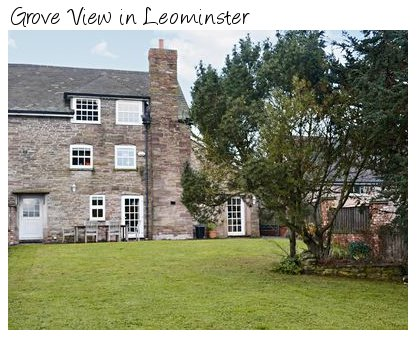 A rural holiday cottage near Leominster, Grove View sleeps 6 people