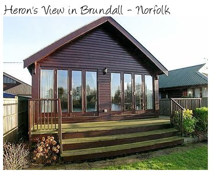 Heron's View is the place to be for easy access to the Norfolk Broads, in Brundall
