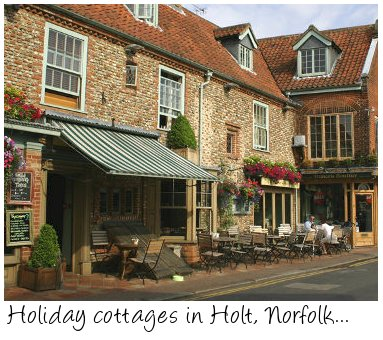 Holiday cottages in Holt