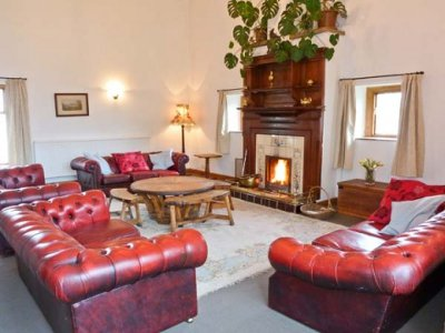 The living room at Inglecroft
