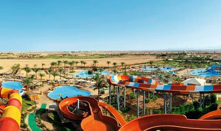 Jaz Makadi Aquaviva in the Hurghada region of Egypt - a holiday resort with free access to a water park