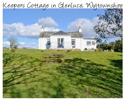 Keepers Cottage is a holiday cottage near the village of Glenluce in south west Scotland