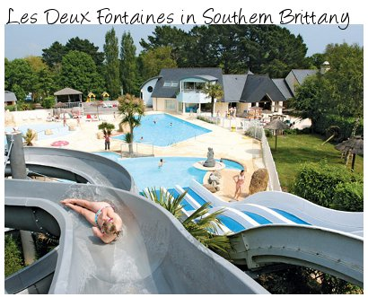 Les Deux Fontaines in Southern Brittany - family holiday at their best