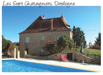 Rent the villa Les Sept Chataigniers in the Dordogne, from James Villas