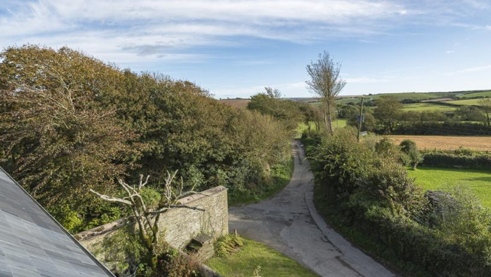 Lower Easton Farmhouse has a quiet setting near Salcombe