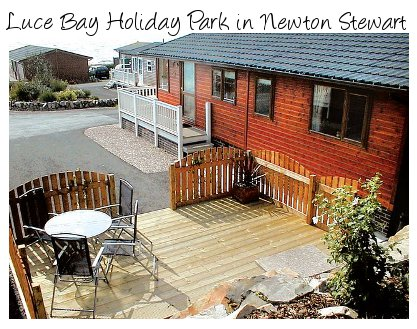Luce Bay Holiday Park in south west Scotland - great for some peace and quiet