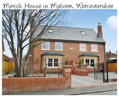 Merick House is a modern holiday cottage in Malvern, Worcestershire