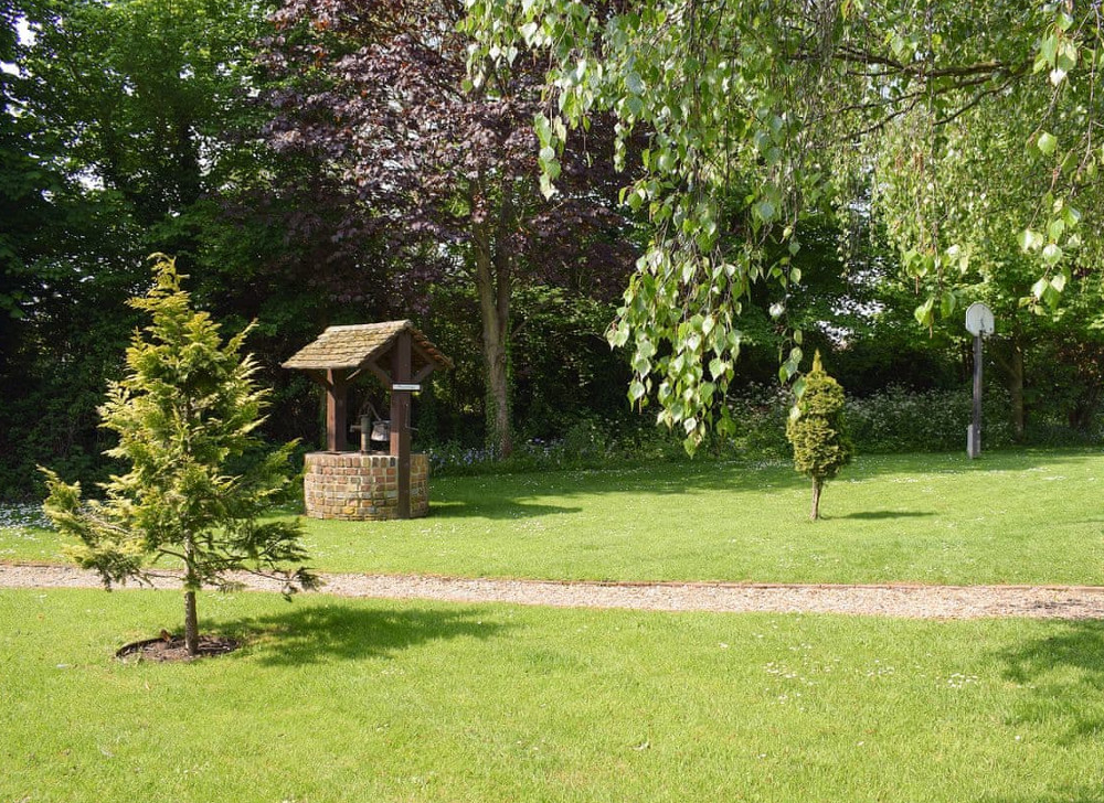 Mill Stone Cottage at Hunston Mill has shared use of the garden