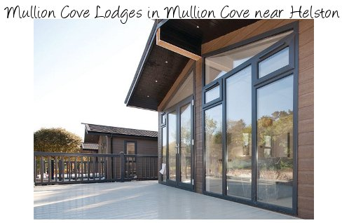 Mullion Cove Lodges are a contemporary collection of holiday lodges in Mullion Cove, near Helston - Cornwall