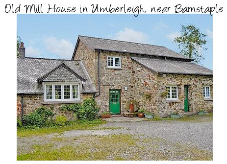 The holiday cottage of Old Mill House is set in the heart of Devon