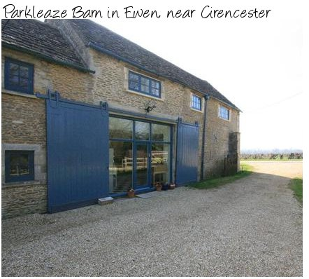Parkleaze Barn in Ewen is a holiday cottage in Ewen, near Cirencester