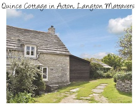 Quince Cottage in Dorset is an ideal location for a romantic break on the south coast