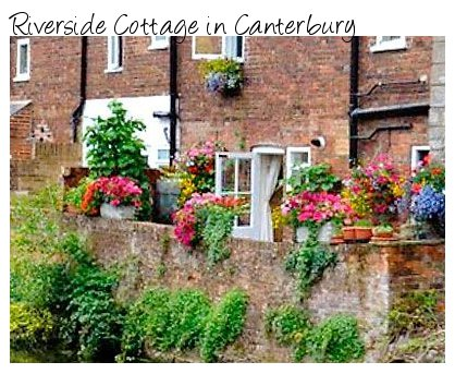 Riverside Cottage in the heart of Canterbury - next to the River Stour