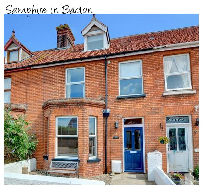 Samphire is a Victorian terraced property in Bacton, Norfolk sleeping 8 people, and pet friendly