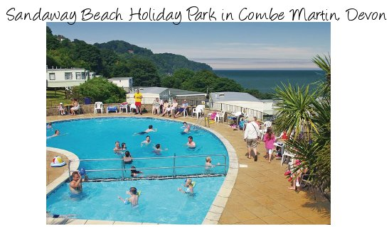 Sandaway Beach Holiday Park in Combe Martin, Devon