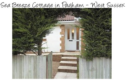 Sea Breeze Cottage is a holiday cottage in Pagham, on the south coast of England