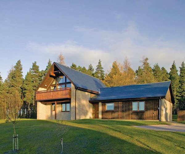 The Hexham Lodge at Slaley Hall Lodges, Northumberland