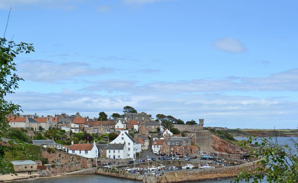 Crail Harbour, 10 miles from South House in Lathones