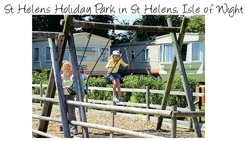 A quiet caravan park on the Isle of Wight, St Helens Holiday Park is near St Helens, on the east of the island