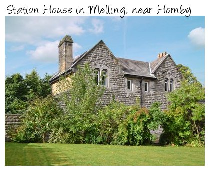 Station House in Melling, near Hornby is an old station house near the Lake District National Park and the Yorkshire Dales National Park. Station House sleeps 6 people