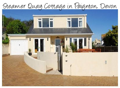 Steamer Quay Cottage is a 4 bedroom holiday cottage in Paignton, Devon. Steamer Quay Cottage sleeps 10 people