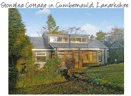 Enjoy central Scotland with a few days at Stonylea Cottage in Cumbernauld, sleeps 5 people and is pet friendly