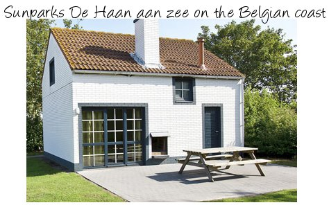 Sunparks De Haan aan zee is a family holiday park on the Belgian coast, with private cottages